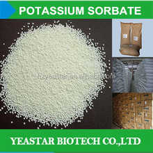 natural soy milk preservative potassium sorbate in low price
