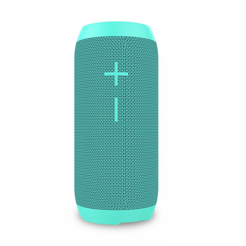 SOOMES 2018 new fabric IPX6 waterproof wireless speaker with super bass