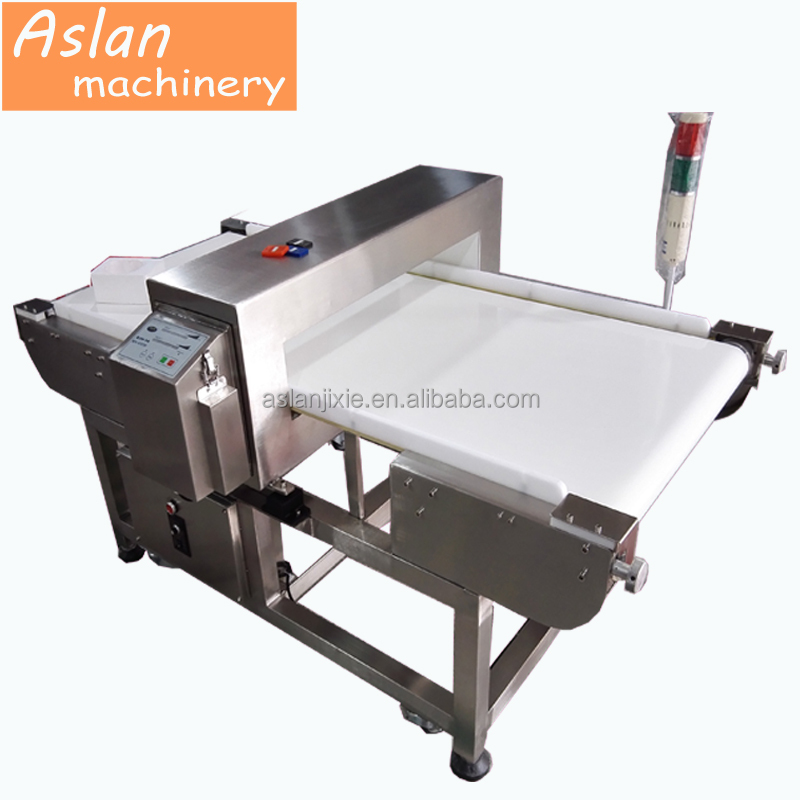 metal detector for food industry / best dry fruit metal detecting machine