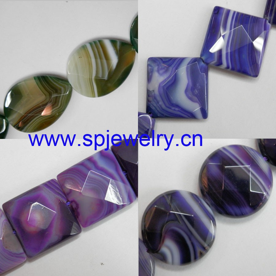 green striped agate, AAA grade agate, round 6-14mm, other shapes avaliable