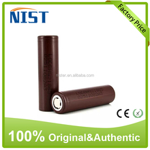 New Original Authentic Genuine LG HG2 3000MAH battery 3.7v High Drain IMR 18650 30a battery lithium Battery vapor mod