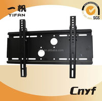 Black 32 inch tilted tv wall mount