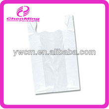 Yiwu white hdpe tshirt shopping bags for fruit