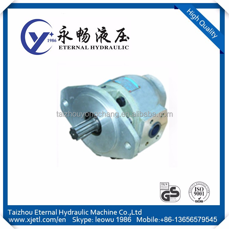 The CBT CBN CBF series engineering machinery gear pump