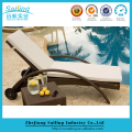 Classic Worthful Rattan Pool Lounge Chair Wheels