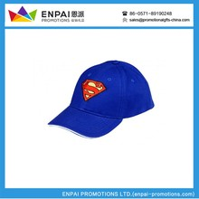Wholesale China Market Sports Caps promotional product baseball hat with removable logos