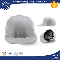 Promotional Custom blank 3D embroidered new year hair attached snapback cap pharrell hat