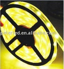 IP68 flexible LED flat strip light for christmas/parties/wedding yellow color