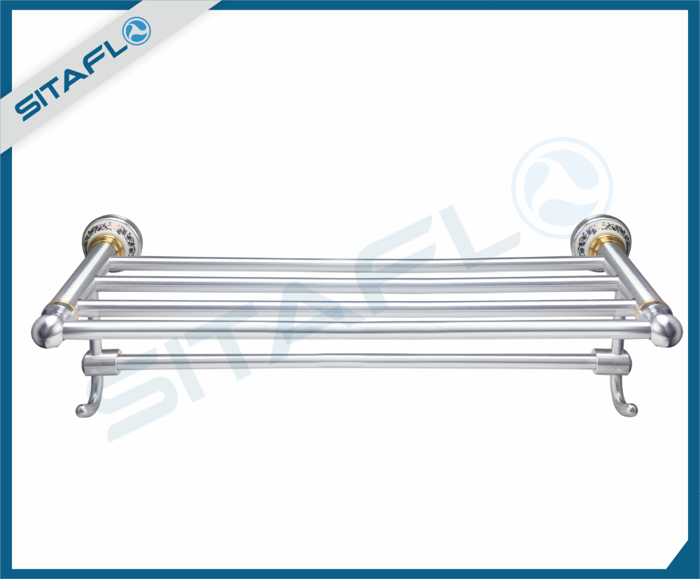 hot new products for 2017 aluminum drawbench finish bathroom towel rack