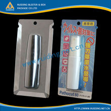 clamshell blister lip balm packaging box