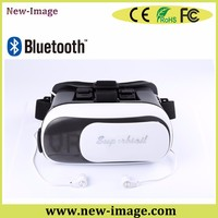 2016 Unique, Specific and Patented VR-08 3D VR Box and VR Glasses With Bluetooth and Headset