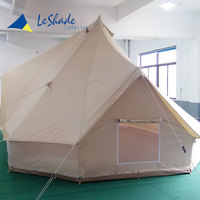 Beige cost price good sell backpacking double poles bell tent weight