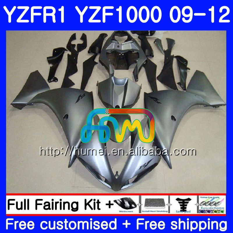 Body For YAMAHA ALL Silvery YZF-<strong>R1</strong> YZF-1000 YZF <strong>R1</strong> <strong>09</strong> 10 11 12 104HM45 YZF1000 R 1 YZF 1000 YZFR1 2009 2010 2011 2012 Fairing