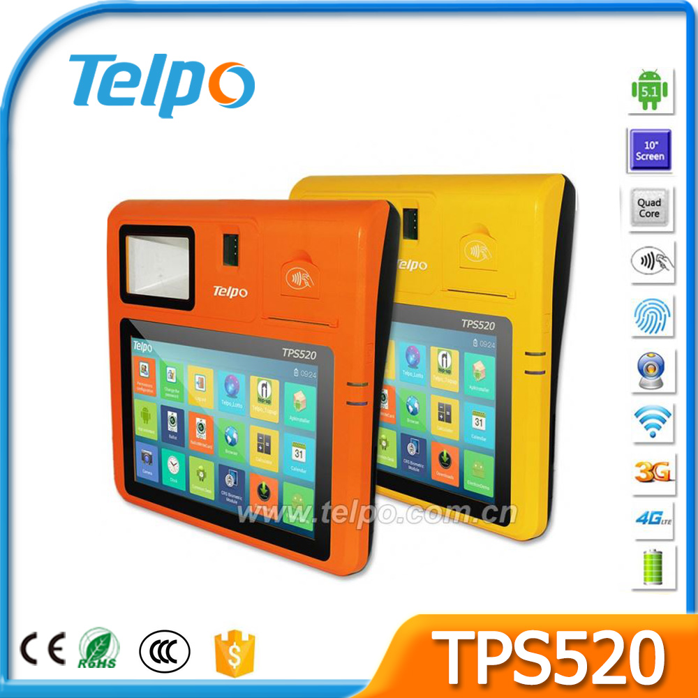 fiscal receipt credit fiscal system pos terminal windows Rfid reader