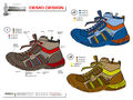 BOY PROTOTYPE SHOES COLLECTION and DRAWING COLLECTION