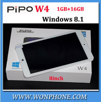 NEW 8 inch PIPO W4 tablet pc intel Z3735G Quad Core 1GB RAM 16GB ROM HDMI OTG Bluetooth WIFI IPS 1280x800 Windows 8.1 tablets