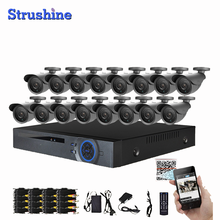 Video surveillance Security outdoor 1080P 2500TVL CCTV Cameras System 16CH DVR system Full HD 16ch 1080p AHD DVR kit
