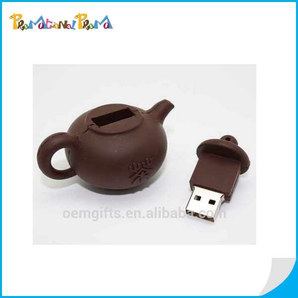 Promotion Tea Pot Shape USB Flash Disk