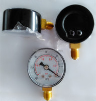 "1.5"" small dial dry vacuum pressure gage"