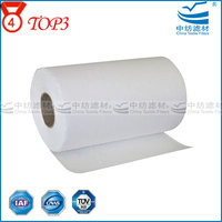 Manufacture For Production Air Filter 50 Micron Paint Car Cellulose Glass Fiber Double Ring Air Filter Paper