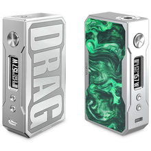 First support Signature box mod VooPoo Drag 157W Mod
