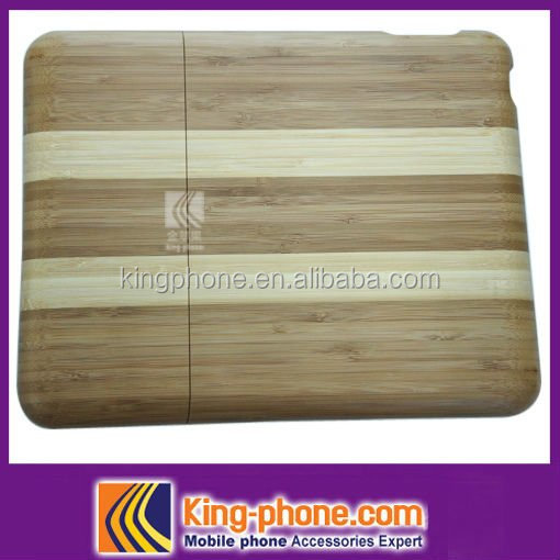 stripe wooden case For Ipad,new arrival made in china