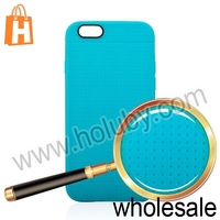 2014 New Arrival 4.7 inch Mesh Style Frosted Soft Flexible Gel TPU Case for iPhone 6 Fashion Back Cover for iPhone6