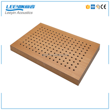 High Quality SGS/CE MDF Soundproof Sound Absorption Perforated Acoustic Panel Paints For Conference Center