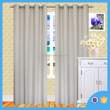 Line Grid window curtains, jacquard window curtains.made in china