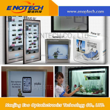 lcd monitor/transparent lcd display/low cost touch screen show mobile phone