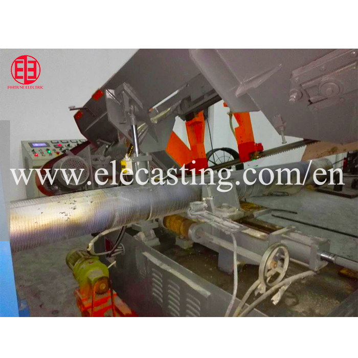 High Quality Copper Mould Tube horizontal Continuous Casting Machine production line