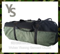 [Wuhan YinSong]Huge Capacity Canvas Sports Shoulder Duffel Travel Bag