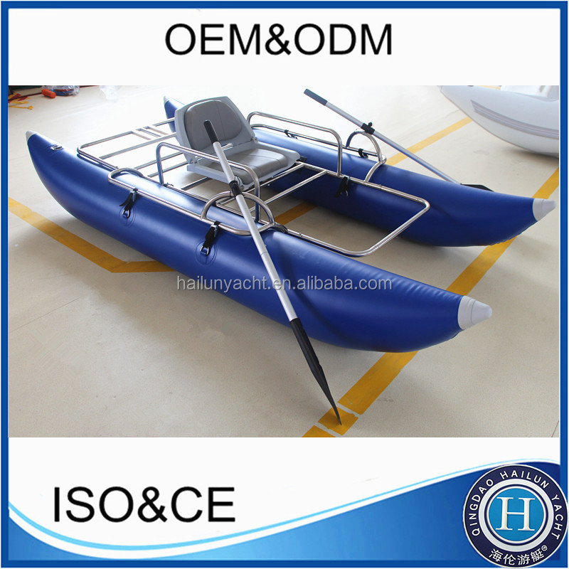 DIY Float Tube Fishing 105ft 320cm Inflatable Tubes For Boats