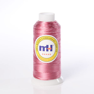 Hilo De Bordar 120D/2 100% Rayon Variegated Machine Embroidery Thread