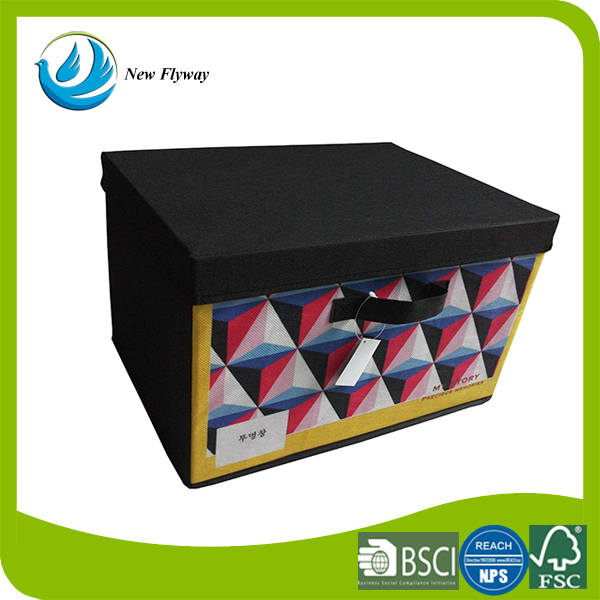 relax living room kids storage stackable bin foldable storage cube fabric boxes with lids