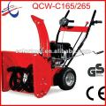 6.5HP wheel walk CE approved snow blower QCW-D265 / electric snow thrower