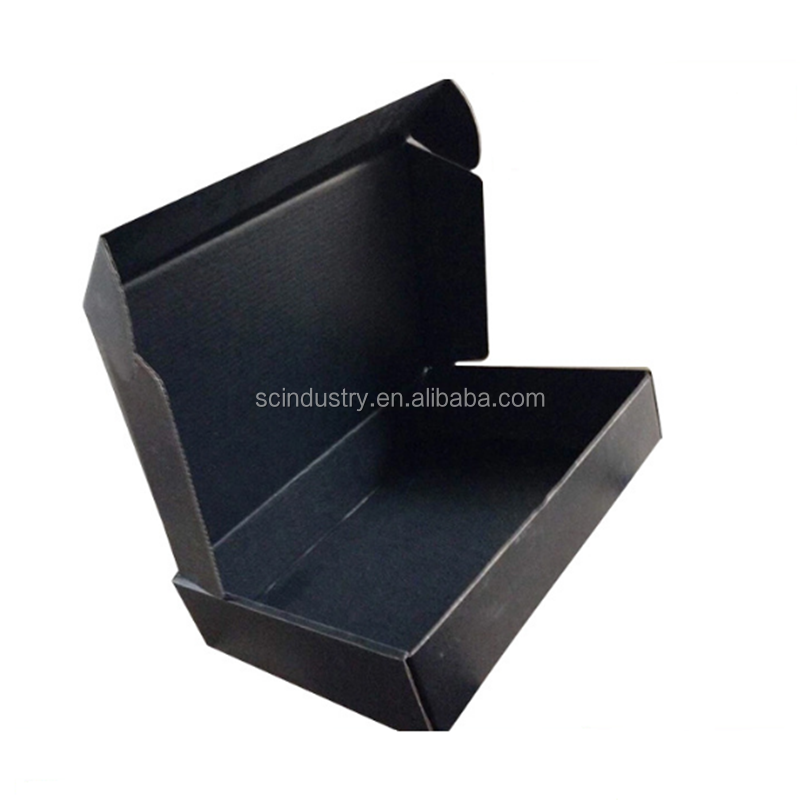 magnetic closure matte black foldable paper packaging boxes/ flat folding cardboard gift box/ collapsible magnetic box