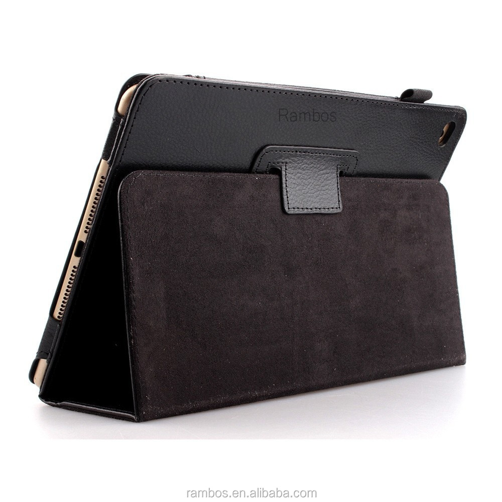 New Arrival Stand Flip Leather Smart Tablet Cover Case for <strong>iPad</strong> 6 for <strong>iPad</strong> Air 2