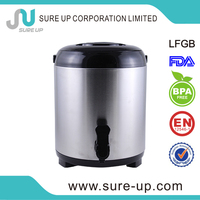 9.5L one tap stainless steel thermal Water Jug cooler dispenser (WSUA)