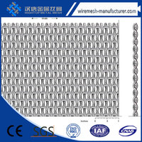 alibaba china Aluminum Colored Link Chain Curtain Fly Screen