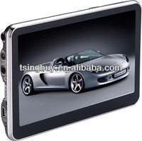 china factory 5 gps navigation mtk3351 with FM BT AV-IN