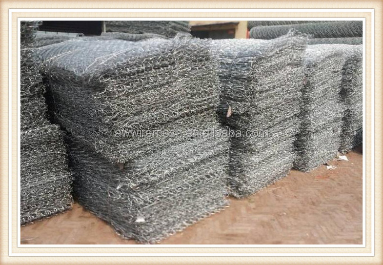 Hexagonal wire Mesh/gobion box