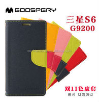 mercury case goospery fancy diary flip leather wallet case cover for samsung galaxy s6 g920