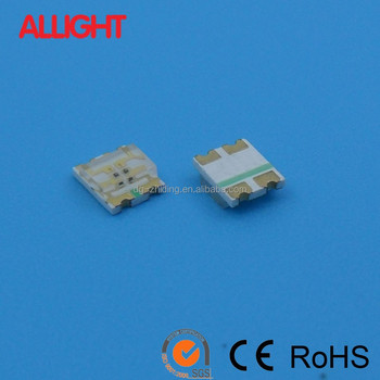 bicolor SMD RoHs approval 1210 LED red and yellow