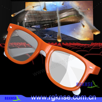 2016 rgknse majestic cinema 3d glasses polarized/circular polarized glasses/ personal