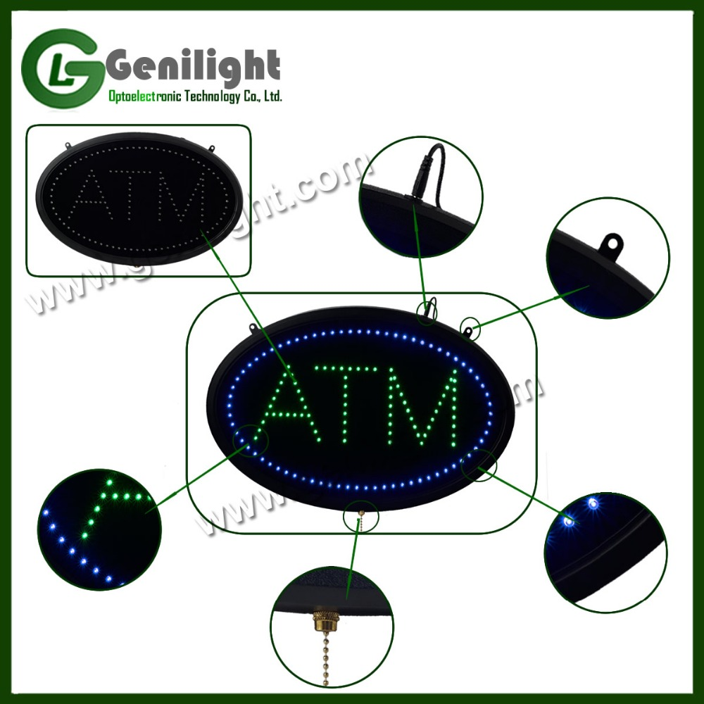 competitive price electronic led ATM letter sign