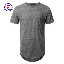 Mission men's vapor active alpha muscle fit t-shirt wholesale 100% cotton soft and gym t-shirt
