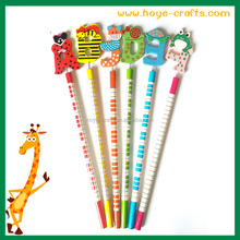 Factory wholesale cheapest English alphabet cartoon wooden pencil