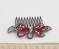 Bow hair combs hair jewelry