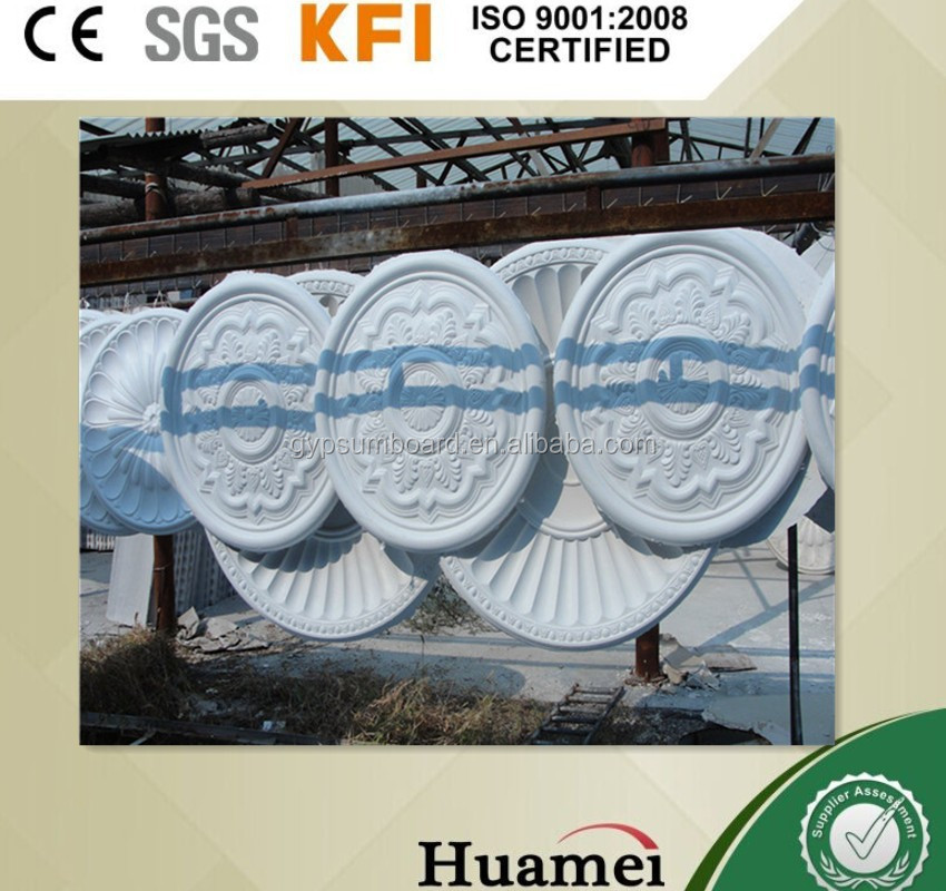 Plaster mold ceiling decorative / All kinds of gypsum relief products